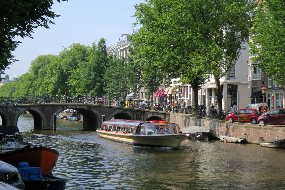 Sightseeing Boat, Amsterdam